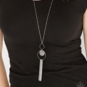 Faith Makes All Things Possible - Silver Necklace